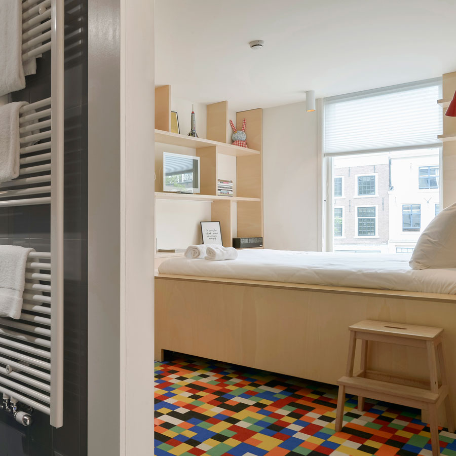 Cosy Small hotelkamer met uitzicht over de Oudegracht