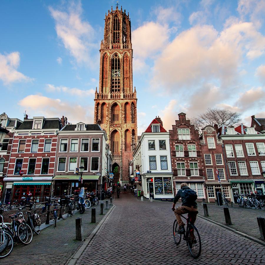 Domtoren Utrecht centrum