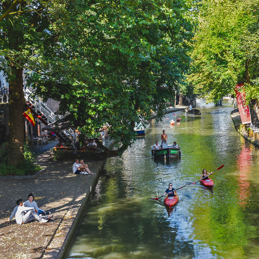 Gracht Utrecht centrum