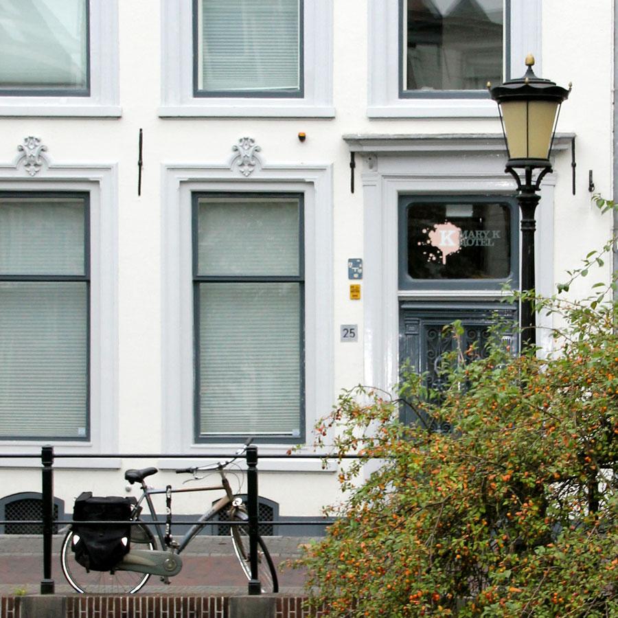 Mary K Hotel centrum Utrecht buiten