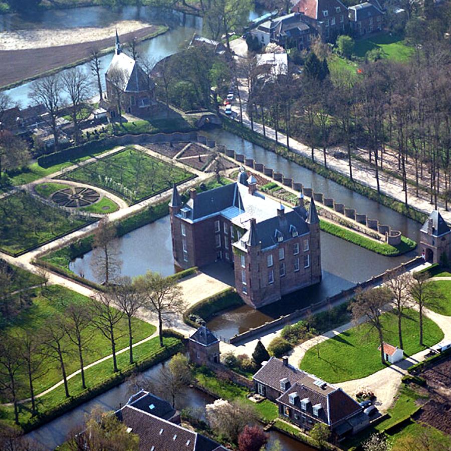 Fietsen naar Slot Zuylen te Utrecht