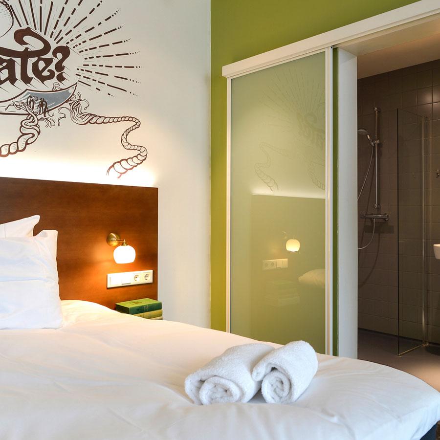 Funky hotelkamer Utrecht