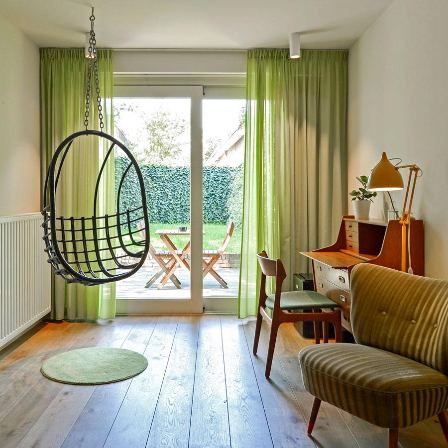 Hotelkamer Utrecht tuin