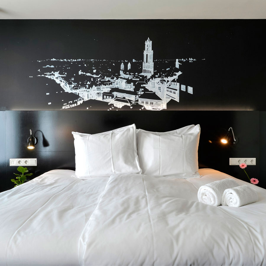 Hotel kamer Utrecht centrum kunst 2