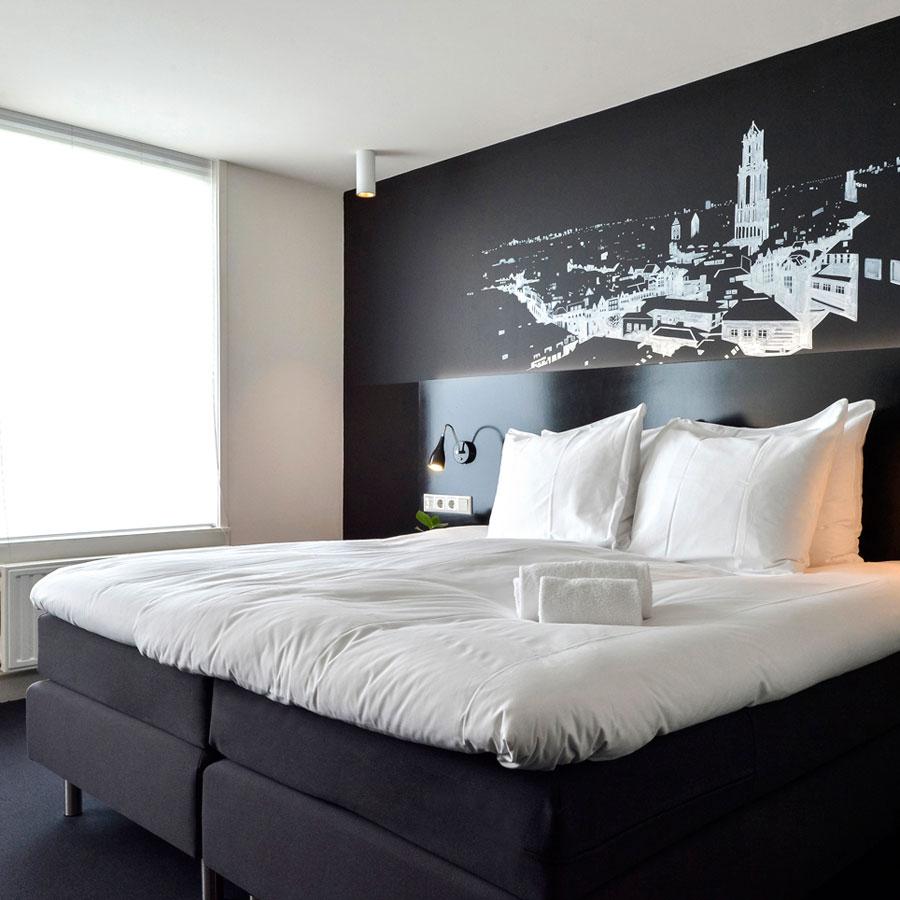 Comfortabel Medium hotelkamer kunst
