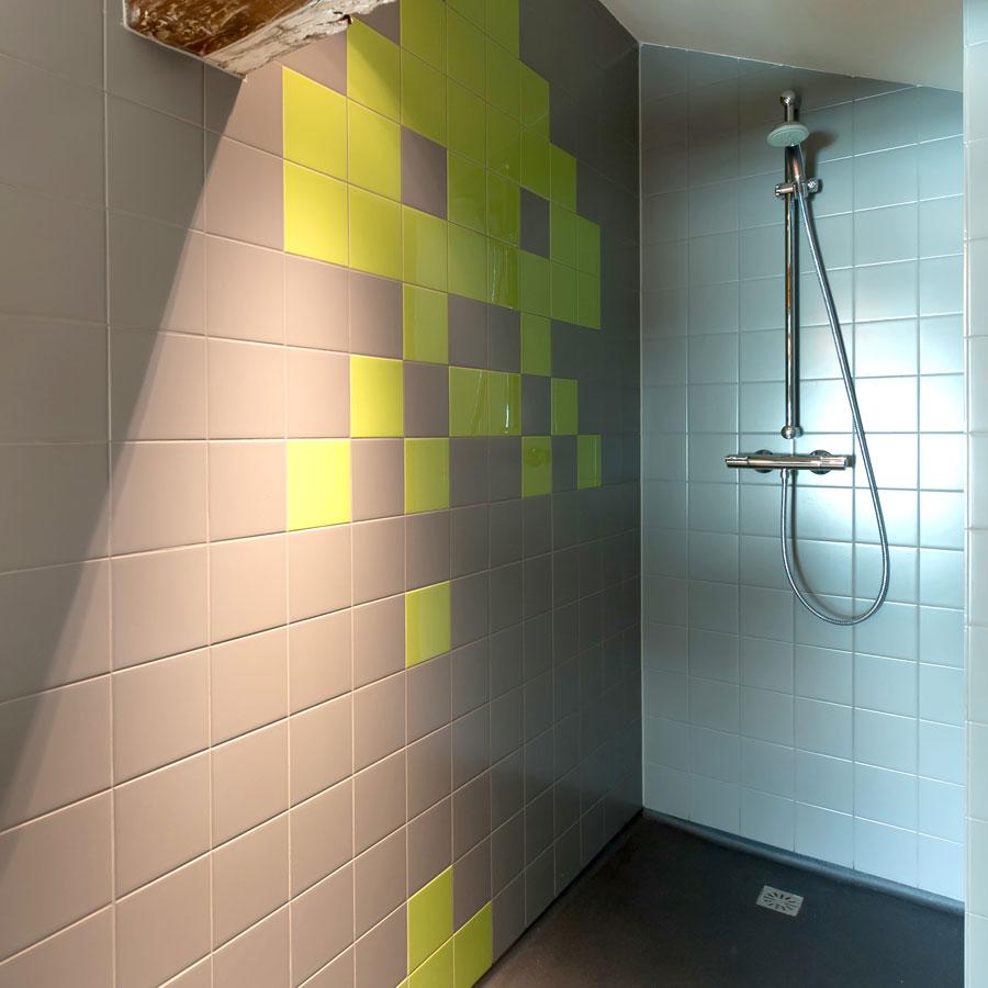 Douchen in stijl in het Mary K Hotel