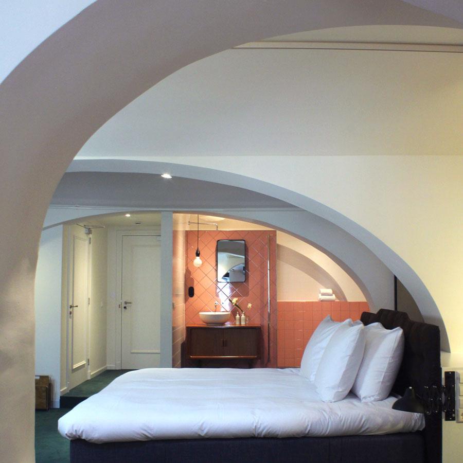 Hotelkamer met jacuzzi